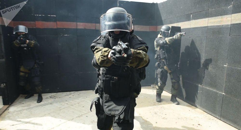 Тренировки спецподразделения МВД РК Арлан