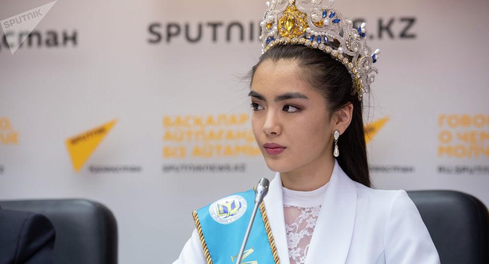 Астана аруы Еркеназ Сейфулла