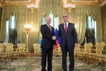 Президент РФ Владимир Путин и президент Казахстана Касым-Жомарт Токаев (справа) во время встречи
