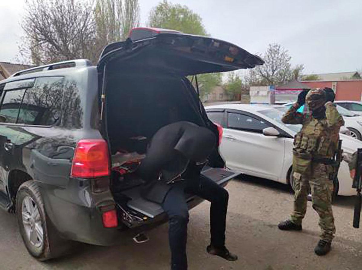 6 членов ОПГ задержаны в Шымкенте