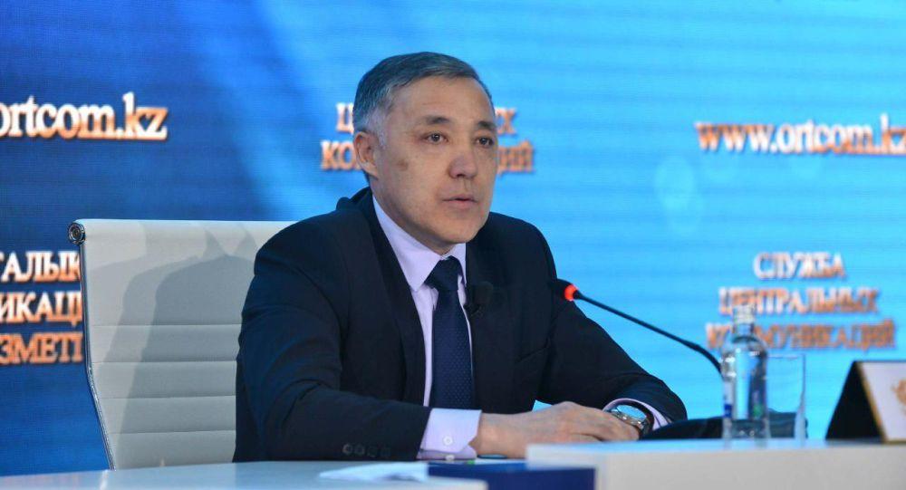 Исполняющий обязанности заместителя главы комитета государственных доходов Минфина Куат Рахимов