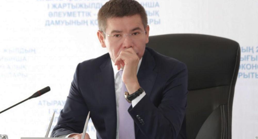 Экс-аким Атырауской области Бергей Рыскалиев