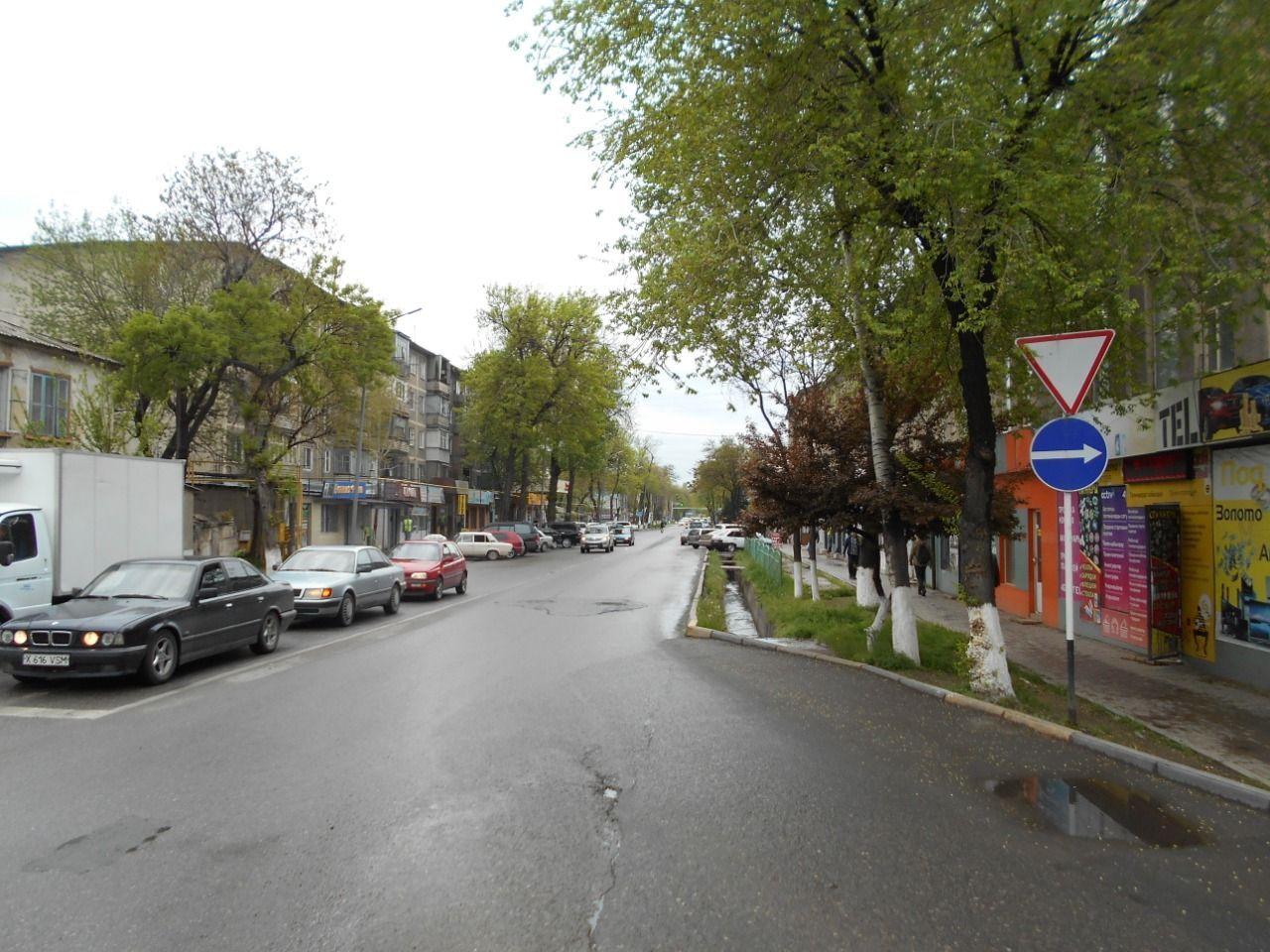 Улица Токаева в Шымкенте