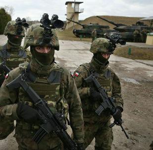 Польские военные, участвующие в учениях в составе НАТО