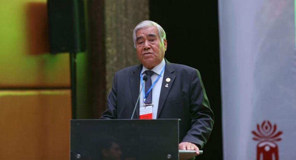 Президент Национальной агропромышленной палаты Кажимкан Масимов