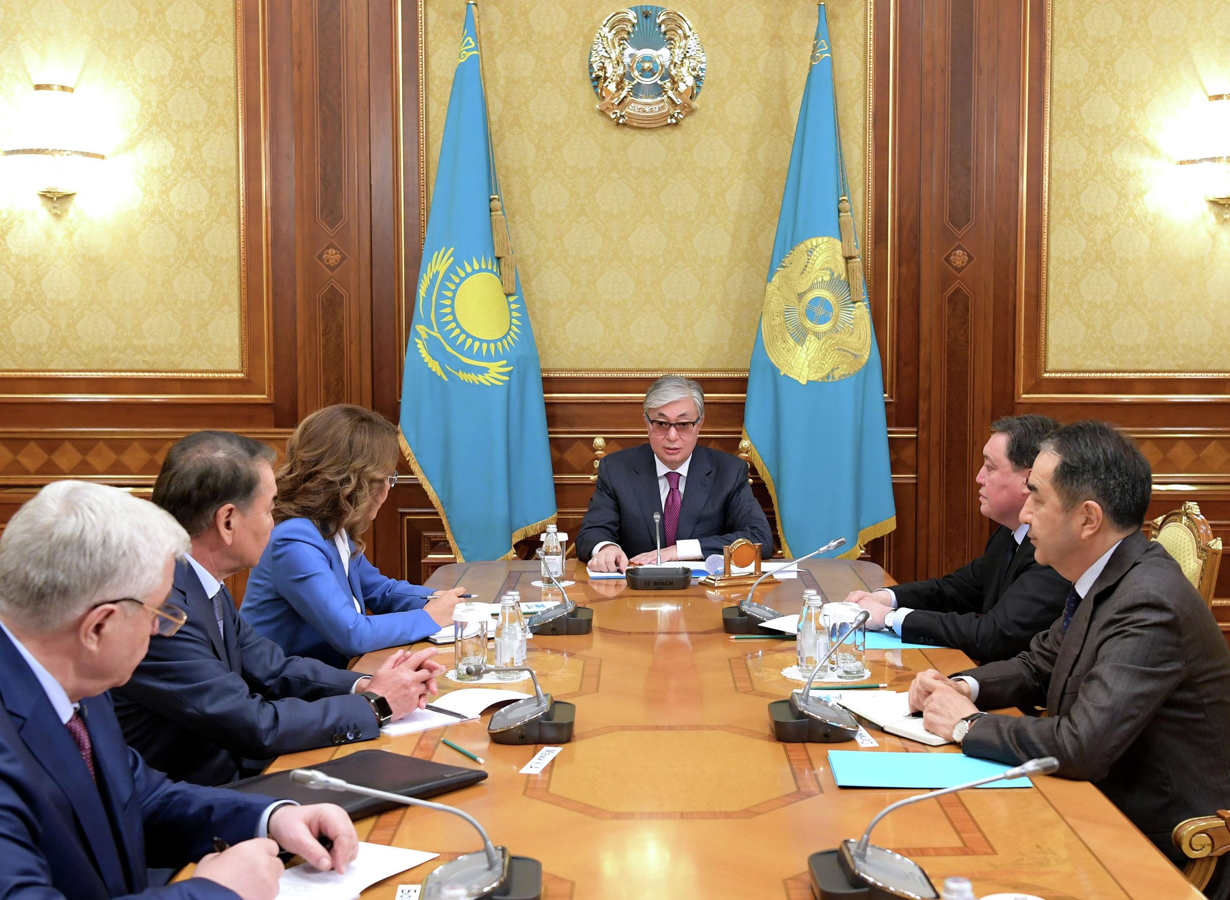 Президент Дариға Назарбаеваны қабылдады