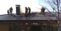 Пожар на территории летнего кафе отеля Rixos в Бурабае потушен