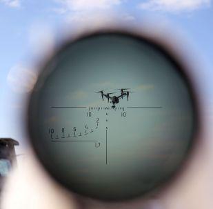Учения по борьбе с воздушными целями, архивное фото
