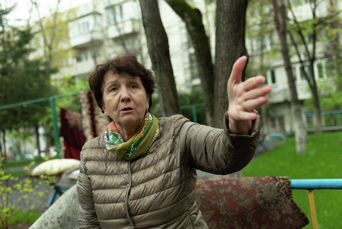 Владелица затопленной квартиры Надежда Костомарова