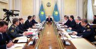 Нұрсұлтан Назарбаев Қауіпсіздік кеңесінің отырысын өткізді
