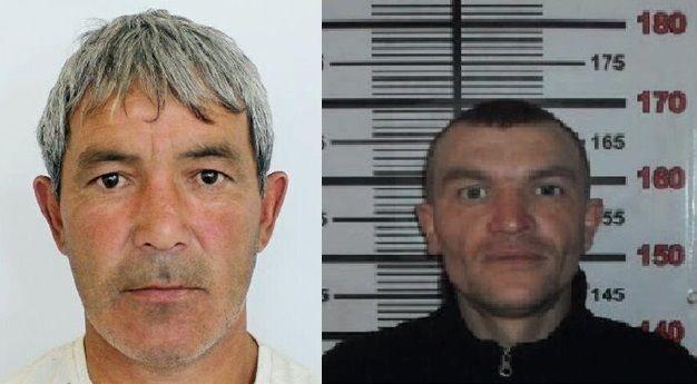 Талгат Есеев (слева) и Николай Улюсев разыскиваются полицейскими Костанайской области