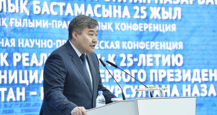 Первый заместитель руководителя Администрации президента Республики Казахстан Дархан Калетаев