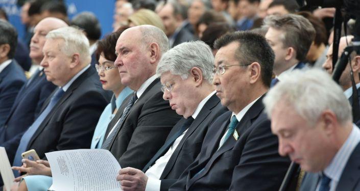 Участники международной конференции От идеи к реальности: к 25-летию евразийской инициативы