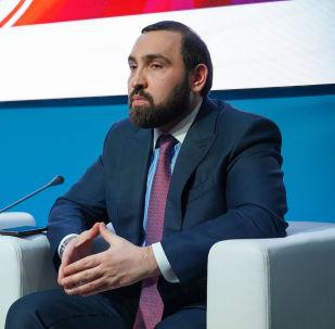 Российский общественный деятель Султан Хамзаев