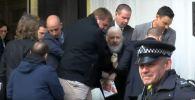 Задержание Джулиана Ассанжа в посольстве Эквадора в Лондоне