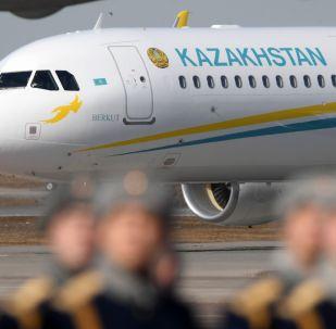 Самолет президента Казахстана Касым-Жомарта Токаева