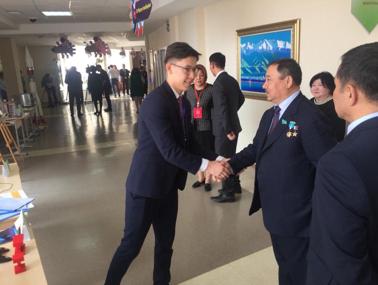 Әлихан Тәліпбаев пен Талғат Мұсабаев