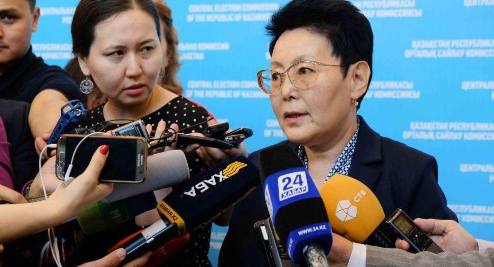 Член Центральной избирательной комиссии РК Зауреш Баймолдина