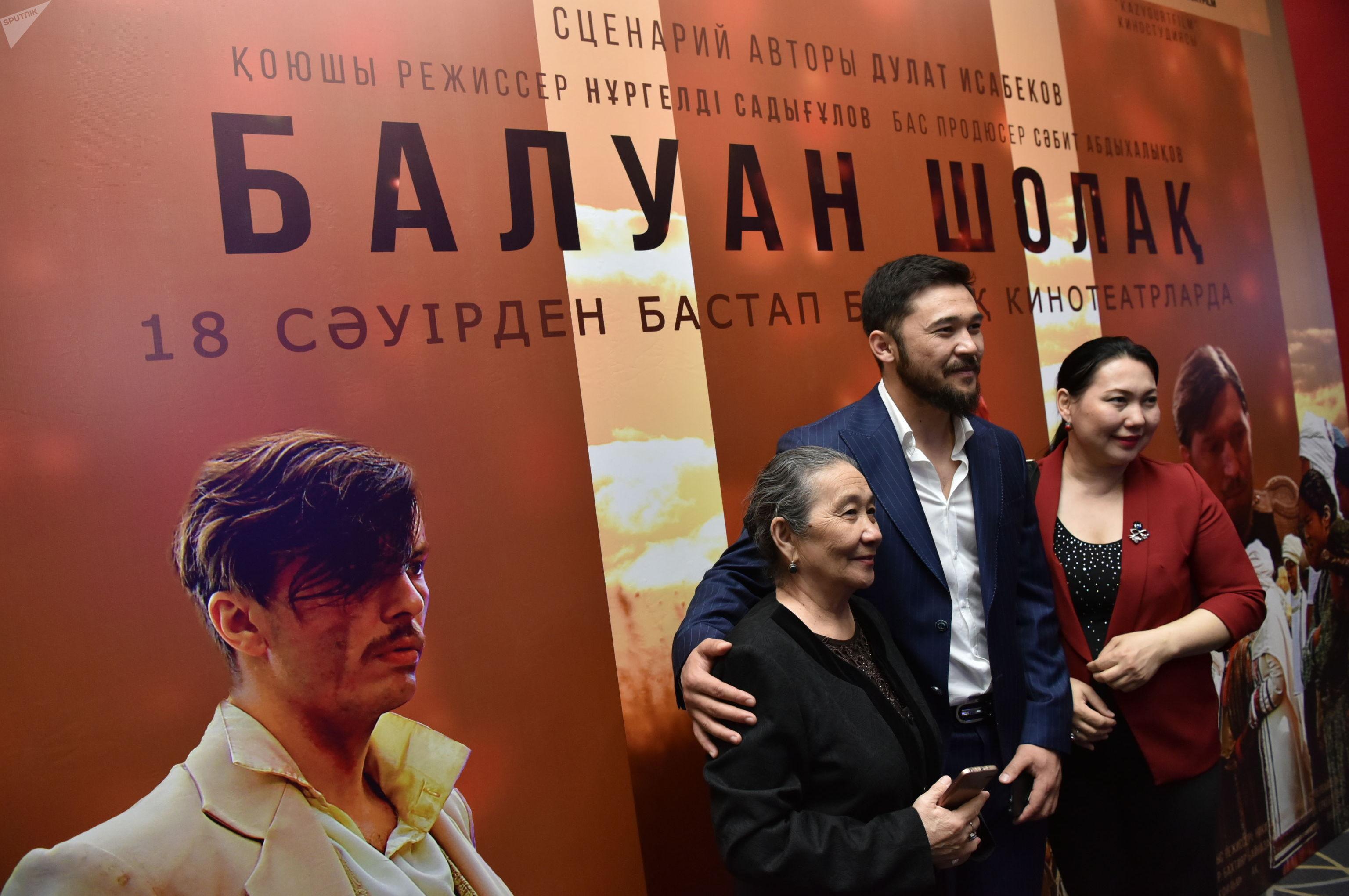 Премьера фильма Балуан Шолак, главный герой фильма, сыгравший Балуана - Еркебулан Дайыров