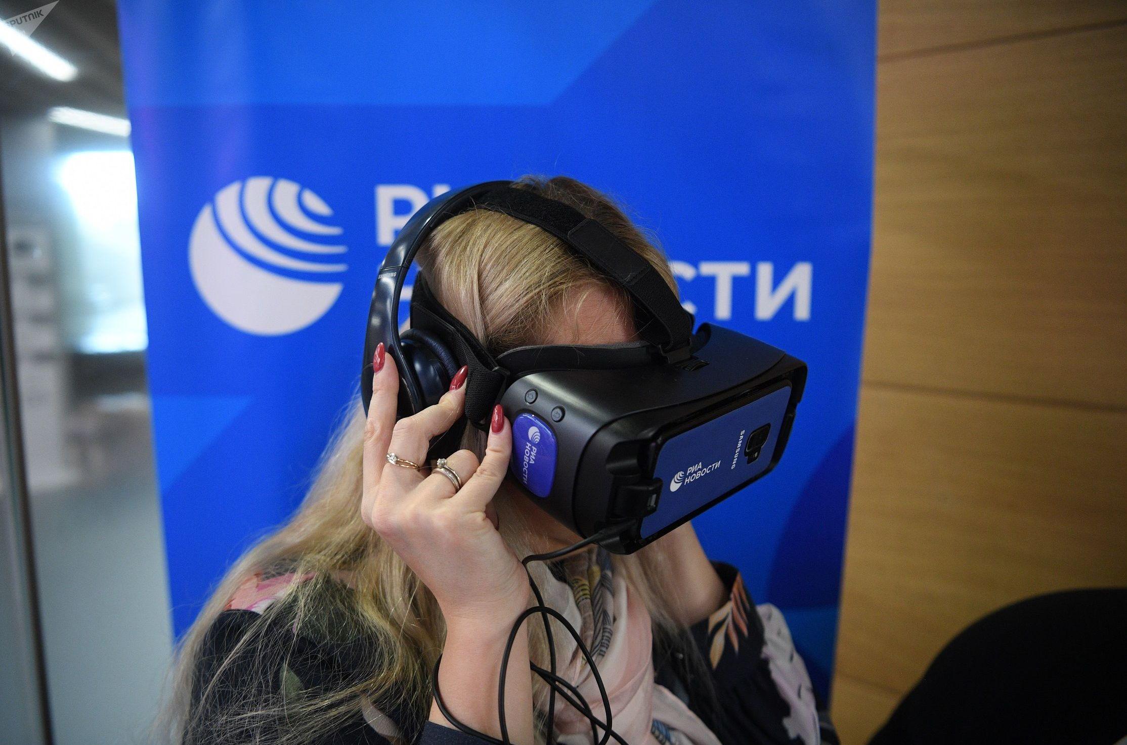 РИА Новости презентовало в Зарядье VR-проект о встрече Гагарина в Москве