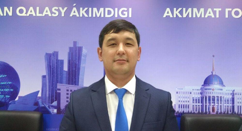 Заместитель руководителя аппарата столичного акима Азамат Ахмеджанов