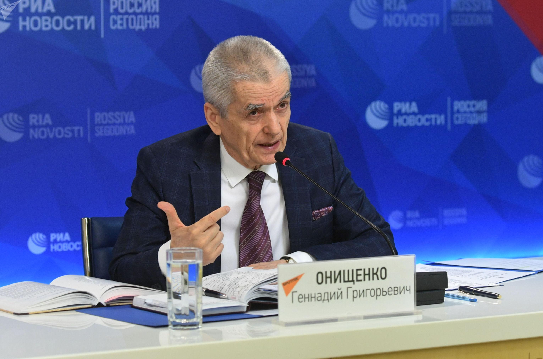 Депутат Госдумы Российской Федерации, бывший главный санитарный врач России, доктор медицинских наук Геннадий Онищенко