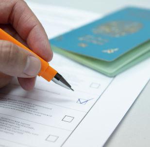 Выборы, голосование, иллюстративное фото