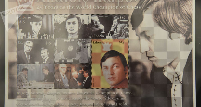 Выдающийся шахматист Анатолий Карпов привез в Нур-Султан редкую коллекцию марок