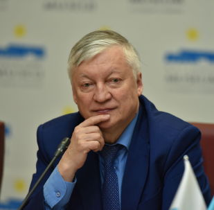 Многократный чемпион мира по шахматам, международный гроссмейстер Анатолий Карпов