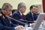 Президент Казахстана Касым-Жомарт Токаев принял участие в расширенном заседании коллегии МВД