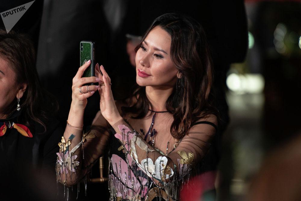 Организатор Казахстанской недели моды Динара Сатжан