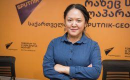 Казахстанская журналистка Айнур Шошаева обучается в SputnikPro