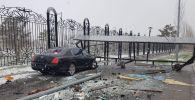 Toyota и Bentley столкнулись во Французском квартале