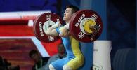 Арли Чонтей завоевал бронзу на чемпионате Азии по тяжелое атлетике