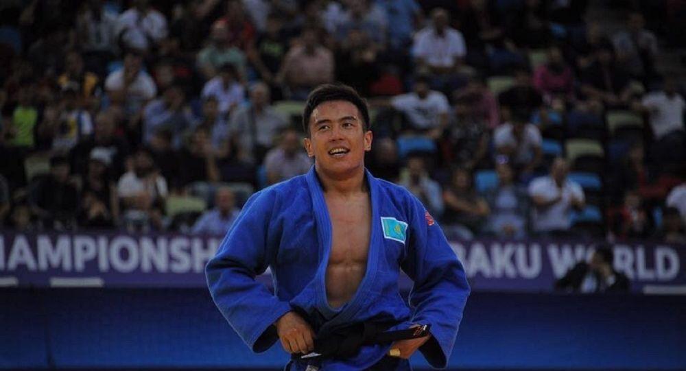 Ерлан Серикжанов стал чемпионом Азии по дзюдо