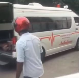 Ситуация после взрыва у храма Святого Антония,  Шри- Ланка, 21 апреля 2019 года - видео