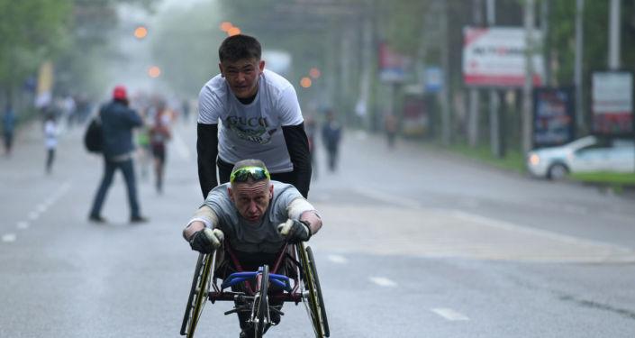 Международный благотворительный Алматы марафон