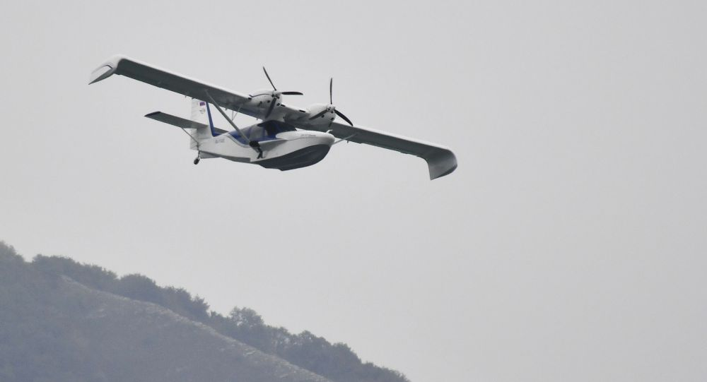 Легкомоторный самолет, архивное фото