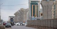 Опоры для Астана LRT, архивное фото