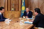 Елбасы Нурсултан Назарбаев встретился с послом Китая в Казахстане Чжаном Сяо