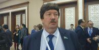 Директор департамента управления человеческими ресурсами Мангистауского атомного энергокомбината Андрей Могилин