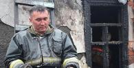 Фото казахстанского пожарного взорвало Сеть