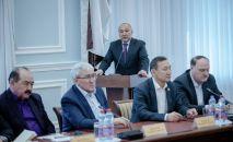 Председатель территориального объединения профсоюзов Западно-Казахстанской области Амангельды Таспихов
