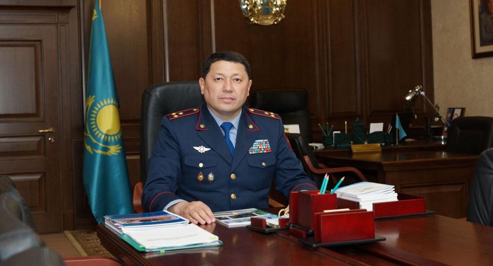 Глава департамента полиции Нур-Султана Ержан Саденов