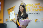 Участница национального конкурса красоты Мисс Казахстан из Нур-Султана Еркеназ Сейфулла стала обладательницей титула Выбор Sputnik Казахстан