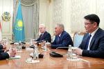 Переговоры Нурсултана Назарбаева и Виктора Орбана в Нур-Султане