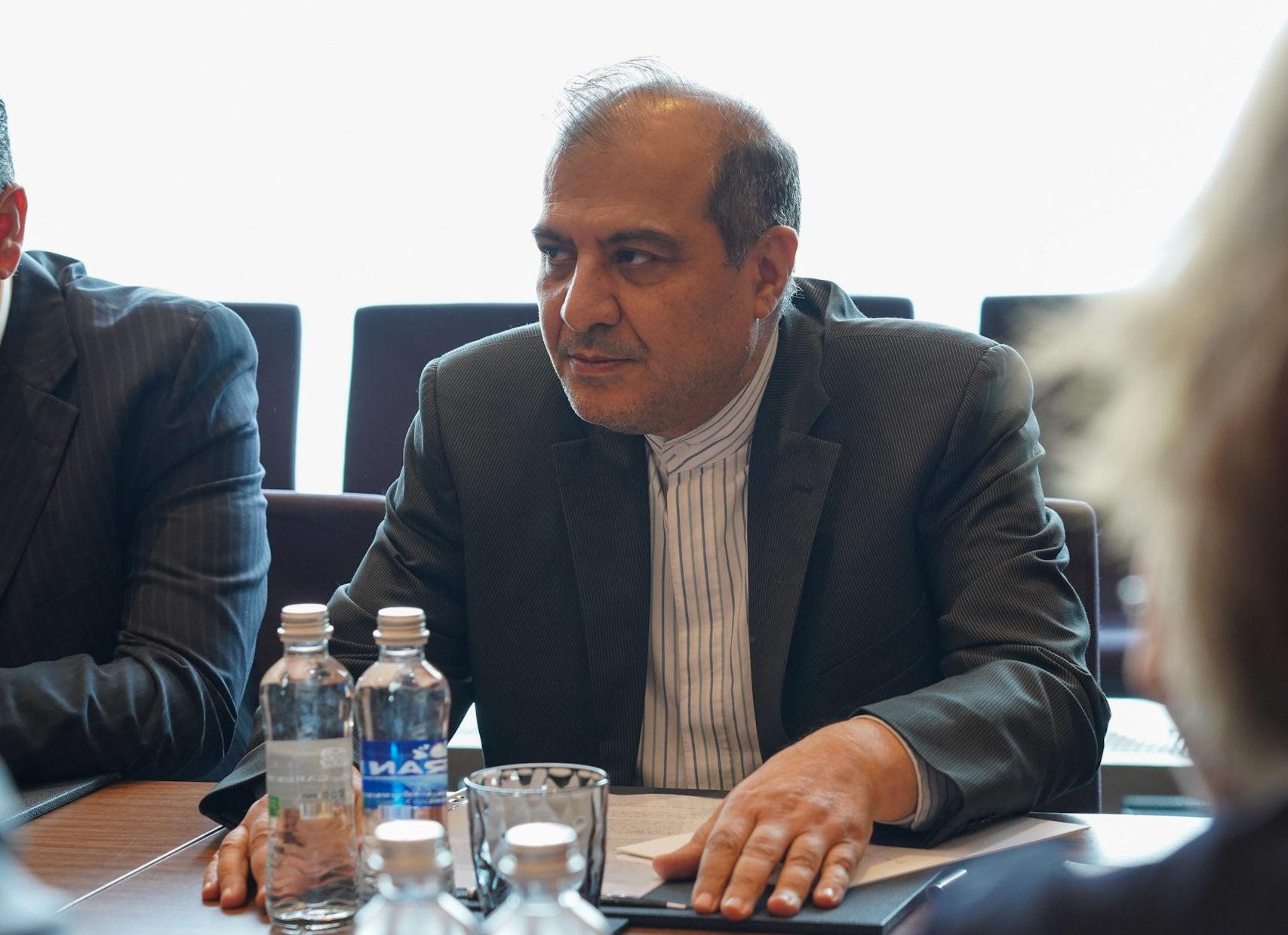 Старший помощник министра иностранных дел по политическим вопросам Ирана Али Асгар Хаджи