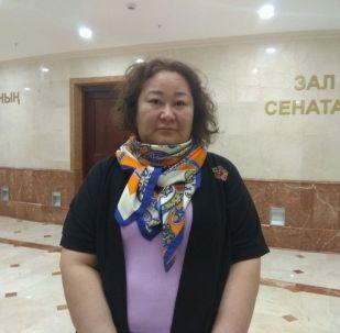 Директор департамента развития внешнеторговой деятельности Жанель Кушукова