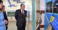 Касым-Жомарт Токаев в ходе встречи с общественностью Семея