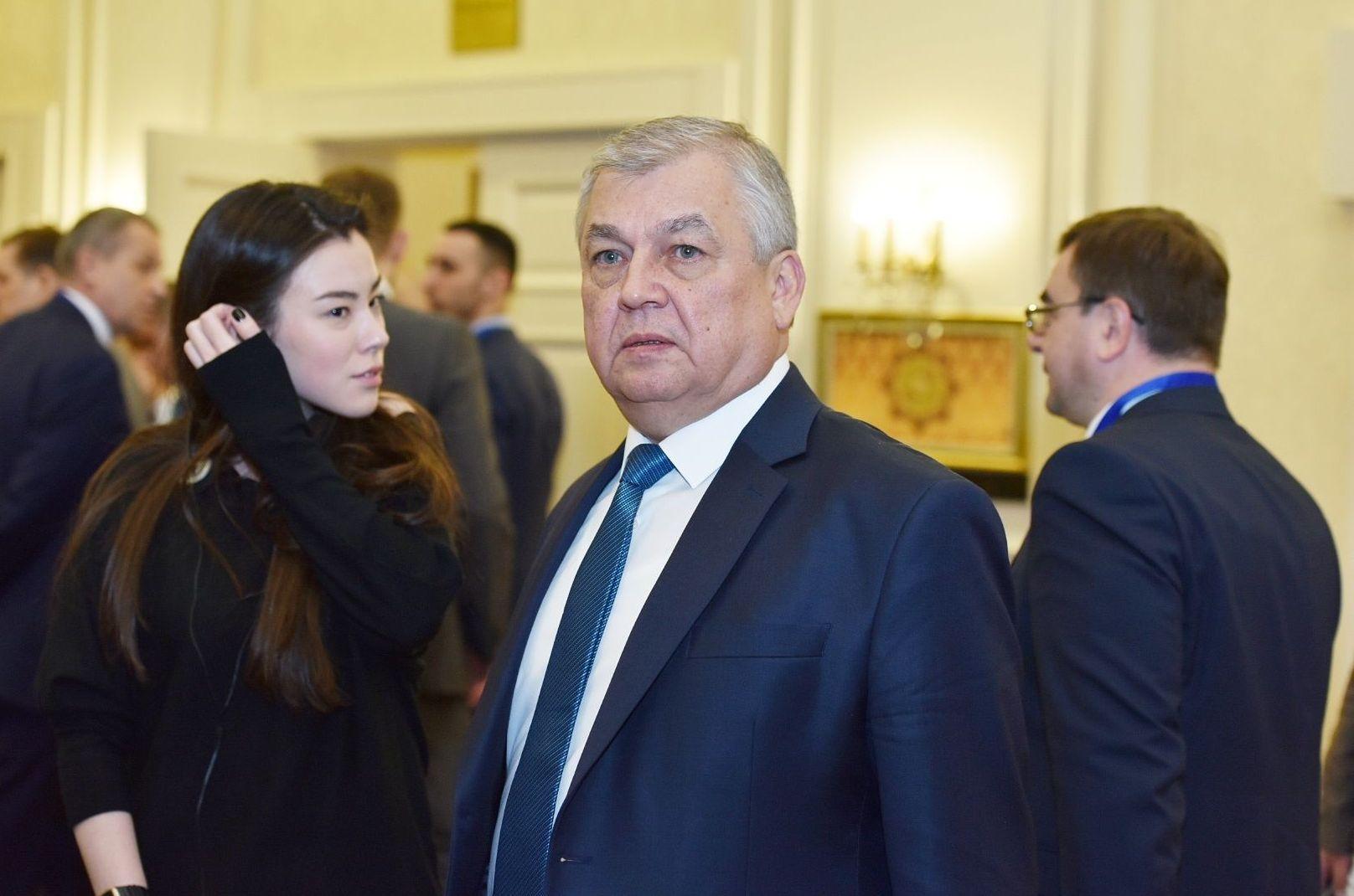 Специальный представитель президента РФ по Сирии Александр Лаврентьев